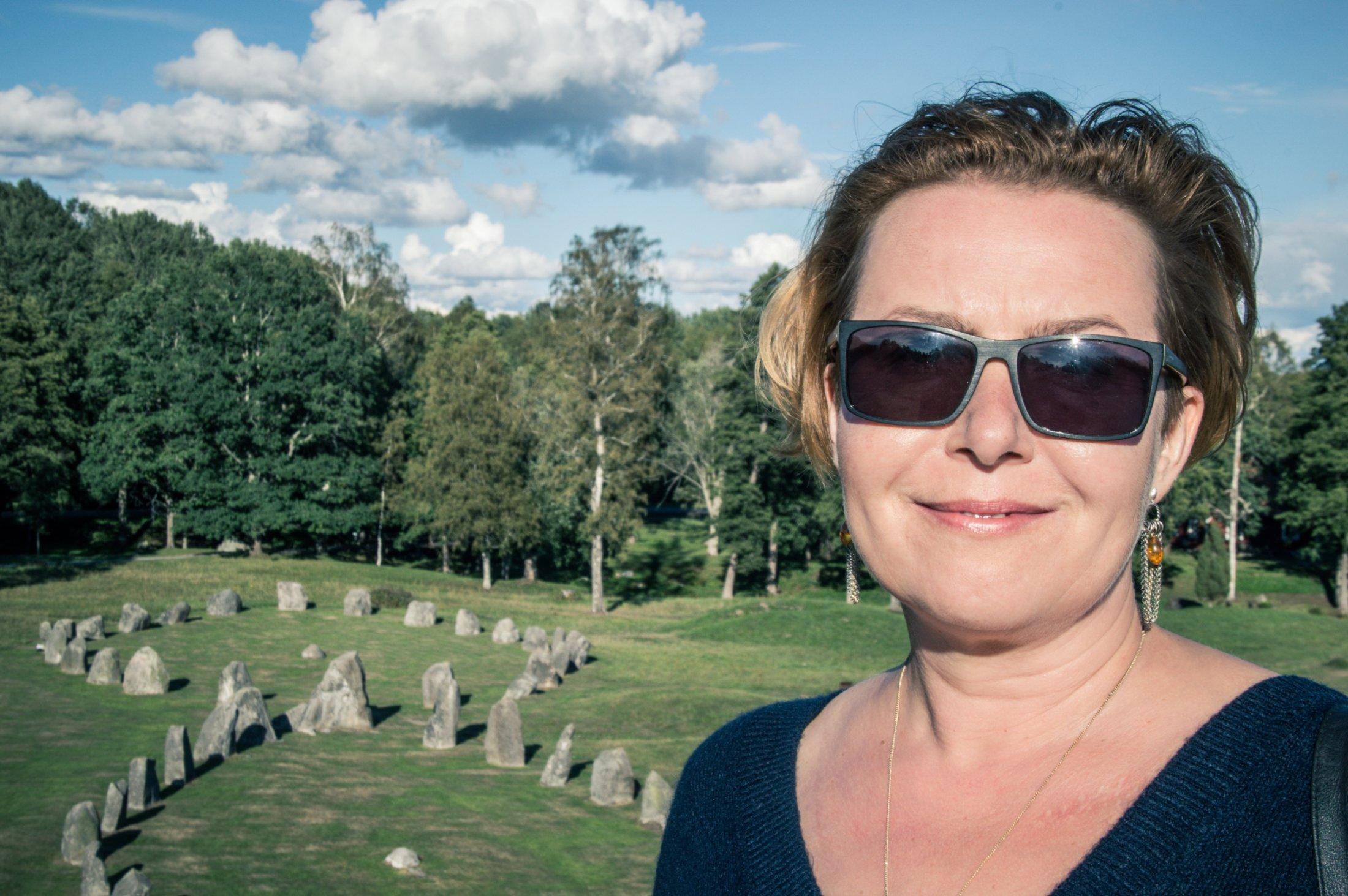 Elzbieta Cherezinska Anundshög Ales Stenar004